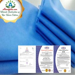 Waterproof PP Non Woven Roll SSMMS Non Woven Supplier Fabric