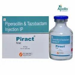 Piract Piperacillin Tazobactam Injection 4.5 gm