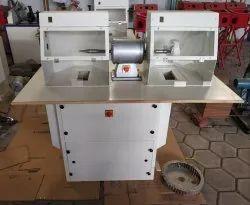 Dual Station Single Motor Buffing Machine
