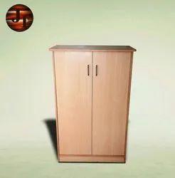 Brown Double Door JIOWC01 Wooden Almirah, For Home, Number Of Doors: 2