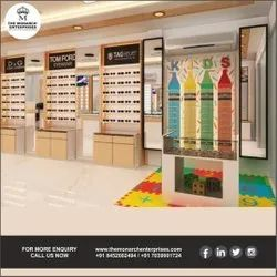 New Spectacles Showroom Interior Design - New