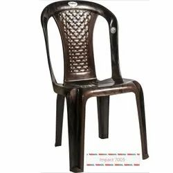 Without Hand Rest Plastic Chair
