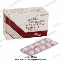 Buspin 10 Mg Tabs