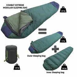 Jainsons Polyester Combat Extreme Sleeping Bag, Size: 7 Ft