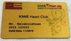 Own Multicolor GOLD METALIC VISITING CARD