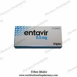 Entecavir 0.5mg Tablet