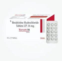 Betahistine Hydrochloride Tablets 16mg