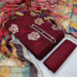 Cotton Casual Wear Designer Salwar Kameez