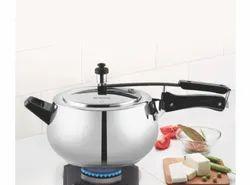 5Litre Borosil Pronto Stainless Steel Pressure Cooker, For Home
