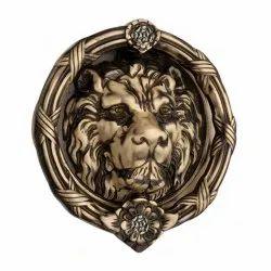 6 inch King Brass Door Knocker
