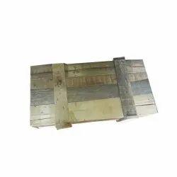 Rectangular Brown Hard Wood Wooden Packaging Box