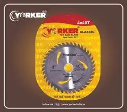 Yorker Classic Yellow 4x40T TCT Saw Blade