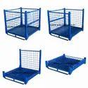 Rolled Steel Stackable Racks, For Warehouse steel pallets racks