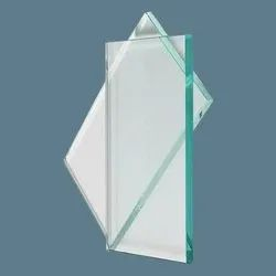 White 12mm Crystal Glass, For Home