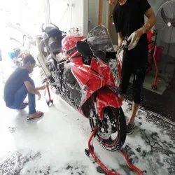 Two Wheeler Washing Services
