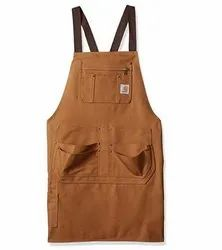 Chef Aprons With Pockets, 0.150-0.200 Kgs, Size: 70cm X 90cm