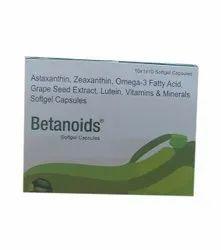 Betanoids Softgel Capsule, 10 X 1 X 10 Tablets