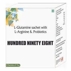 L Glutamine Sachet With L Arginine & Probiotics