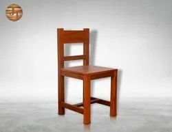 Jupind Brown JIVC03 Wooden Chair, Finish: Polished