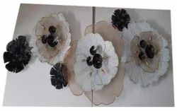 Decorative Iron Wall Art, Size: 45x22 Inch (lxw)