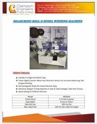 Measuring Roll And Spool Winding Machine