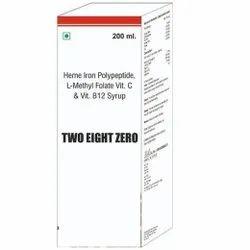 Heme Iron Polypeptide L Methyl Folate Vit C & Vit B 12 Syrup
