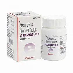 Atazor R (Atazanavir 300 Mg + Ritonavir 100 Mg)