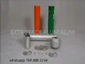 Aluminium Bottle Fitted With Plastic Neck