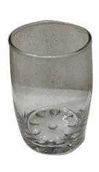 Shivali Glassware Transparent Plain Round Drinking Glass, For Home