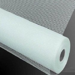 White Fiber Wire Mesh, For Industrial, Thickness: 0.20 Mm