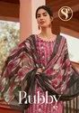 Stuffy Fashion Rubby Vol-2 Rayon Print With Mirror Work Suits Catalog