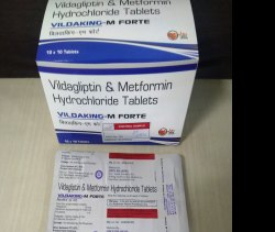 Vildagliptin 50+Metformin 1000
