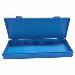 Plaza Blue Plastic Slide Box