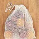 Organic Mesh / Fishnet Drawstring Bags