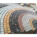 Colored Granite Cobbles