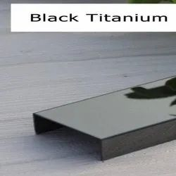 Black Titanium Stainless Steel Profile