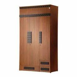 6ft Three Door Wardrobe