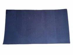 Blue Plain Cotton Carpet