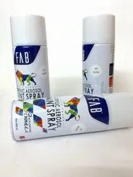 Aerosol Spray Paints White - FAB Brand