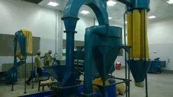 Semi-Automatic Chana Sattu Making Machine