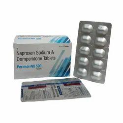Naproxen Sodium 500mg + Domperidone 10mg