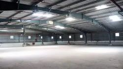 Prefab Galvanized Steel PEB Structural Shed