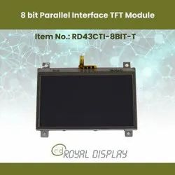 TFT With 8 Bit Interface