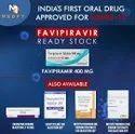 Favipiravir 200 MG Favivent Tablets