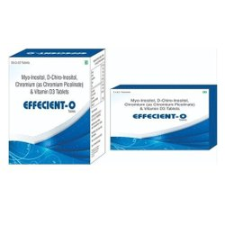 Myo-Inositol D-Chiro-Inositol Chromium (as Chromium Picolinate) & Vitamin D3 Tablets