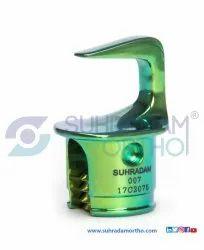 Pedicle Hook Titanium