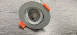SMD Downlight 4W LENS COB / Concealed Light Tiltable PC Housing, For Office