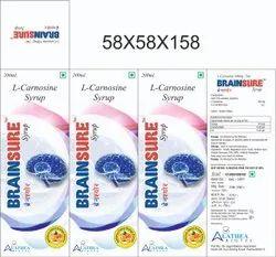 Brain Nerves L-carnosine 100mg Or 200 Mg L Carnosine, Prescription, Grade Standard: Food Grade