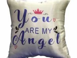 Polyester Cushion Covers Digital Printing Services, Dimension / Size: Free Size