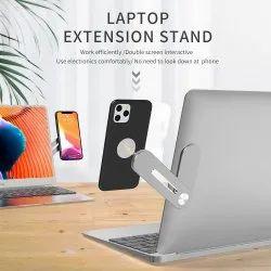 Round Mobile Magnetic Holder With Laptop/ Desktop